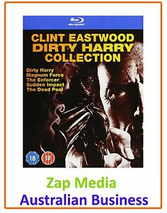 DIRTY-HARRY-MOVIES-1-2-3-4-amp-5-BLU-RAY-COLLECTION-BRAND-NEW-FREE-POSTAGE