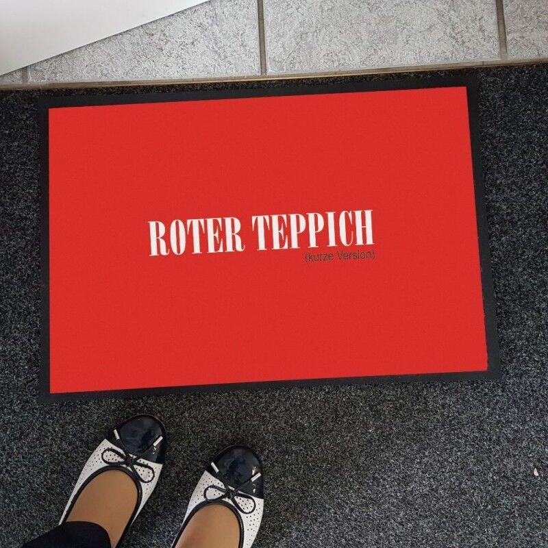 Tappetino Tappetino Tappetino XXL  Tappeto Rosso  FESTA DELLA MAMMA IDEA REGALO REGALO proposta 50x70 cm e53d57