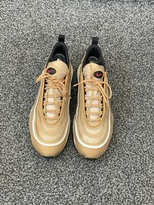 Nike-Air-Max-97-Ultra-039-17-color-oro-metallico-Taglia-UK-8-EU-42