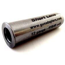 410 to 17hmr shotgun chamber gauge reducer insert sleeve adapter ebay