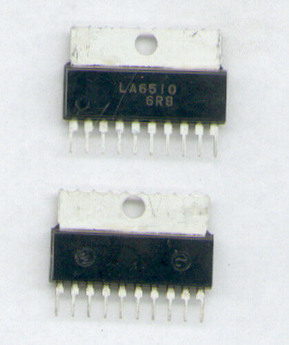 POWER OP HI IC  SIL10   SANYO   +-18V 1A LA6510   DUAL