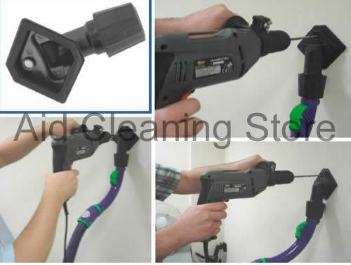 UNIVERSALE Aspirapolvere Polvere di drilling inosservato strumento per 30-38mm VAC fine