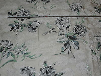 Designers Guild Freya, Pale Jade, Seraphina 100% Pure Dupion Silk Fabric 1.1 mts