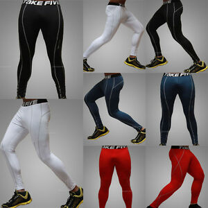 Mens Winter Thermal Under Base Layers Tights Pants Bottom Long ...