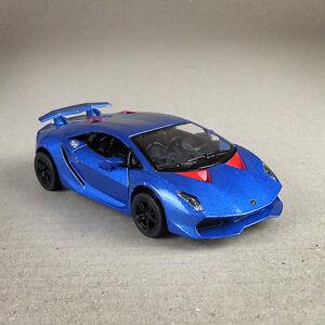 2011 Blue Lamborghini Sesto Elemento 1 38 12cm Die Cast Doors Open
