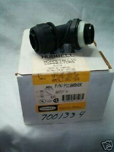 Hubbell-Liquid-tight-fitting-PS1009NBK-5-Box-NWB