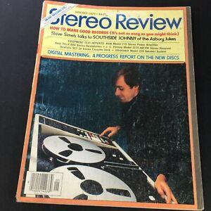 VTG Stereo Review Music Magazine January 1979 - Steve Simels / Southside Johnny