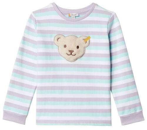 "Steiff ® Ragazze Felpa Shirt cuciture /""quietsch Orso/"" 80-122 F//S 2019 NUOVO!"