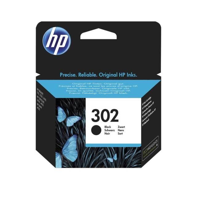 Genuine HP 302 Black Ink Cartridge for Deskjet 1110 2130 3630 F6U66AE