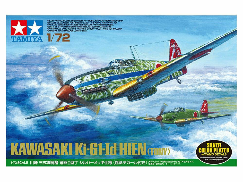 Tamiya 12683 Camouflage Decal Sheet Ki-61 Id Hien 60789 1:72 Aircraft Model Kit