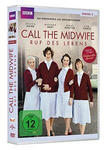 3 DVDs * CALL THE MIDWIFE - RUF DES LEBENS - SEASON / STAFFEL 3 # NEU OVP +