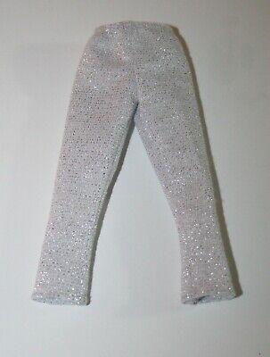 New Doll Clothes Shiny Gold Metallic Capri Yoga Pants Leggings Babrie Ken Petite