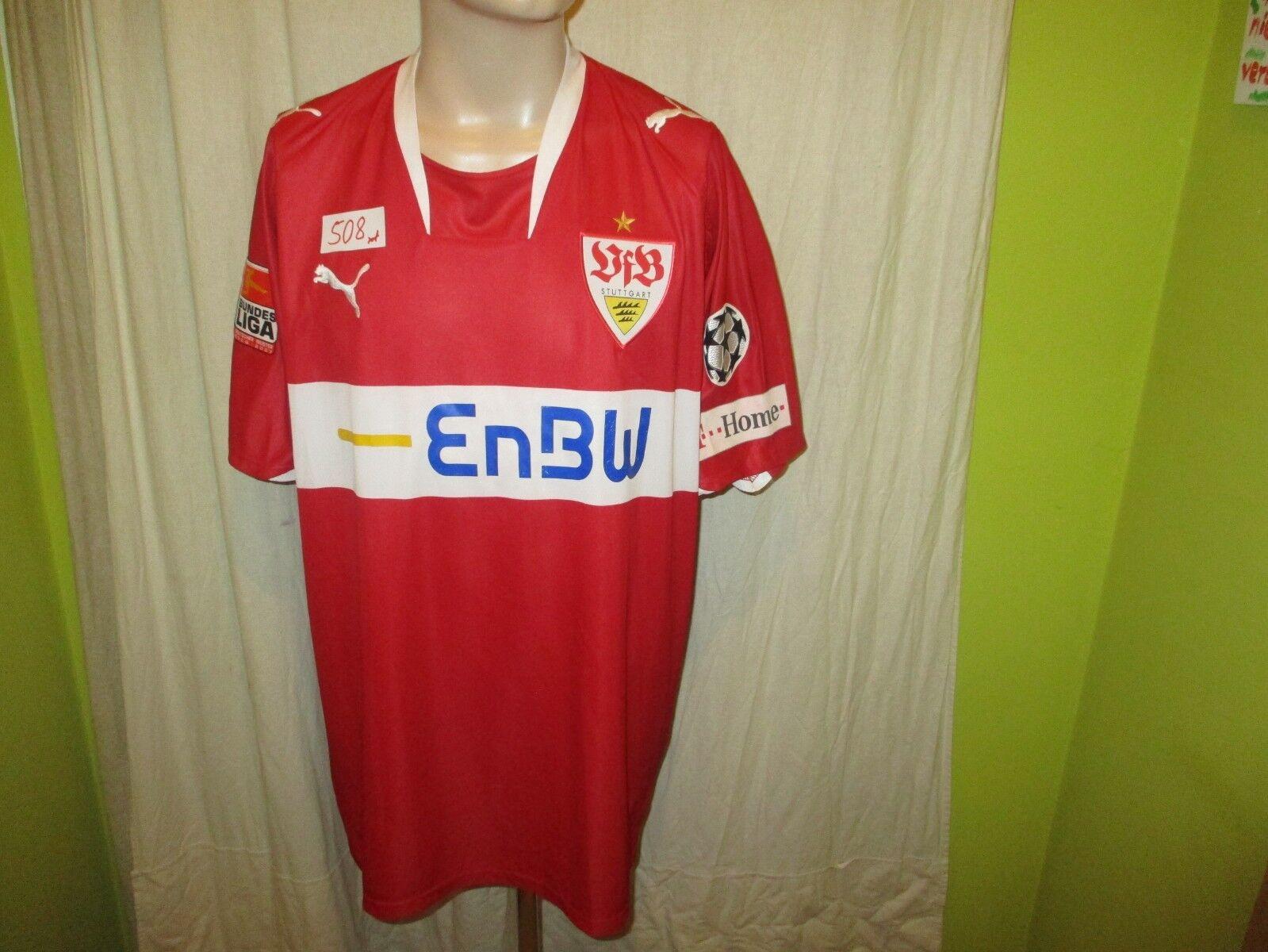 VfB Stuttgart Original Puma Auswärts Trikot 2008/09