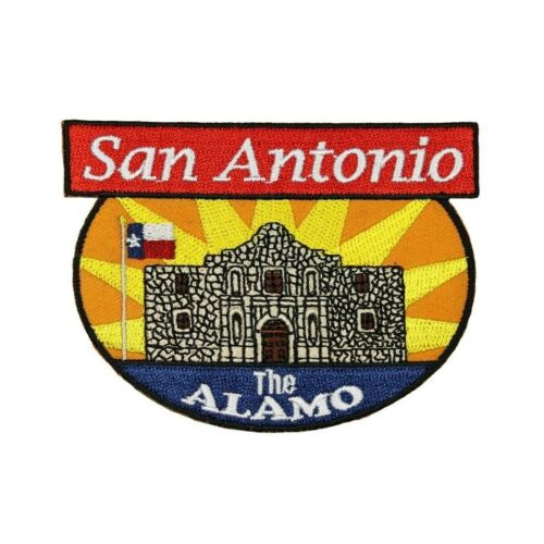 San Antonio The Alamo Patch Travel Texas Battle Embroidered Iron On Applique