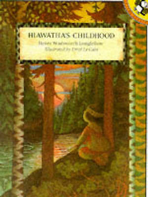 Hiawatha's Childhood (Picture Puffin)-ExLibrary
