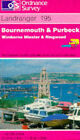Bournemouth and Purbeck, Wimborne Minster and Ringwood by Ordnance Survey (Sheet map, folded, 1997)