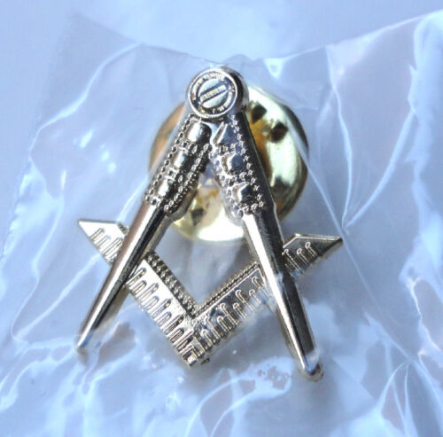 ZP177 Freemason Masonic lapel pin badge Geometry Square Compass