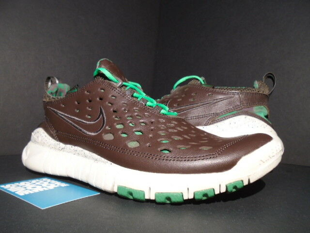 d5ddf48a3e 06 NIKE FREE TRAIL 5.0 STUSSY TOUR BROWN GREEN WHITE 315594-221 10 LONDON  WORLD nwirln7750-Athletic Shoes