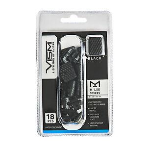 NcStar-BLACK-M-LOK-Rail-Handguard-Slot-Covers-18-Piece-Pack
