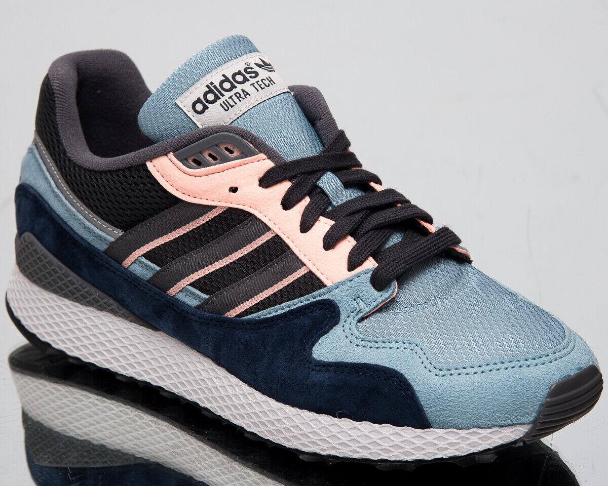Adidas original ultra Tech señores aschgris azul ocio Lifestyle zapatillas