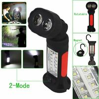 2x3w Flashlight +14 Led Super Bright Hand Torch Camping Tent Hanging Hook Lamp