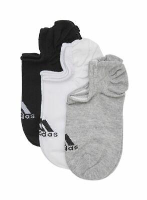 Adidas Unisex Men Women Low Socks Lifestyle Performance Invisible CF3390 3 Pairs