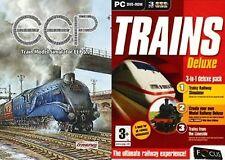 eep train model simulator 5 tin case edition & trains deluxe railway new&sealed