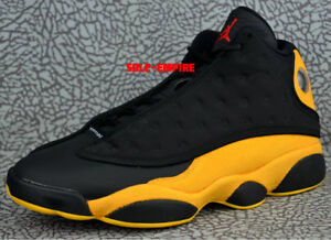 timeless design e0c45 71044 Nike Air Jordan 13 Retro 414571-035 Melo Black Yellow Red ...