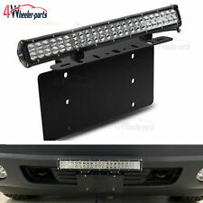 For Honda Accord 22 126w Led Light Bar Front License Plate Mount Bracket Wire Fits 1991 Honda Civic