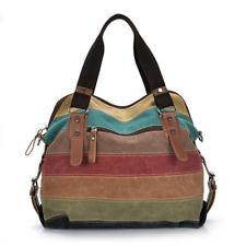 Women Shoulder Bag Satchel Crossbody Tote Handbag Purse Messenger Canvas