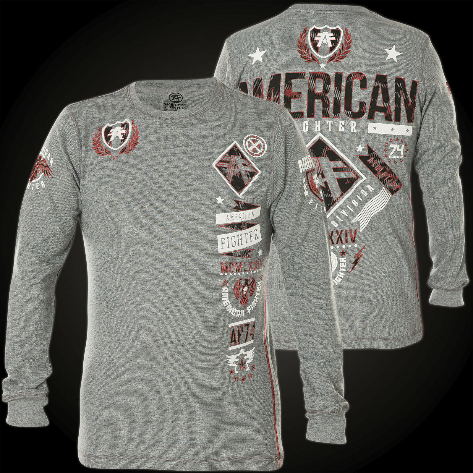 American Fighter by Affliction Thermal Lander Grey