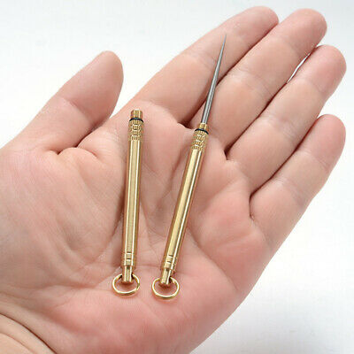 Pocket Toothpicks Holder EDC Keychain Tool Earpick With Protective Case UK Stock