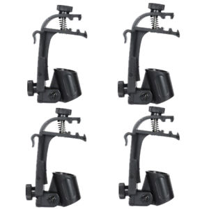 4pcs-Clamp-Clip-On-Drum-Rim-Microphone-Mount-Holder-Mic-Clamp-Holder-Adjustable
