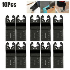 10pcs Oscillating Multi Tool Saw Blade Wood Cutter For Fein Multimaster Makita
