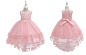 Kids-Flower-Girl-Princess-Tutu-Dress-for-Girls-Party-Wedding-Bridesmaid-Gown-ZG9