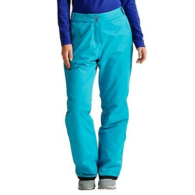 Dare2b Womens Freescope Waterproof Breathable Ski Trousers Salopettes Blue 14