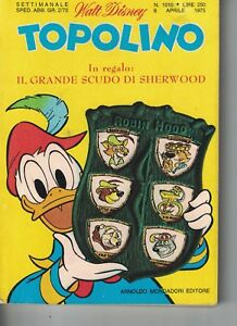1975 04 06 - TOPOLINO - WALT DISNEY - 06 APRILE 1975 - N.1010 - Italia - 1975 04 06 - TOPOLINO - WALT DISNEY - 06 APRILE 1975 - N.1010 - Italia