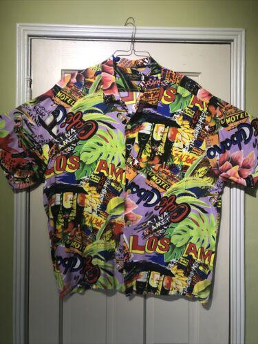 Jams World Mens Hawaiian Shirt XXL