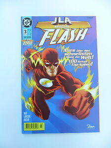 1x Comic DC -  JLA Special Flash  (Nr. 3 / AUG 98)