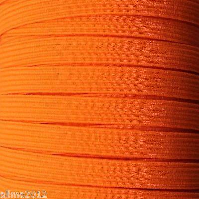 5m Farbiges Gummiband 0,7cm 7mm (0,46€/m) elastisches Band, viele Farben NEU