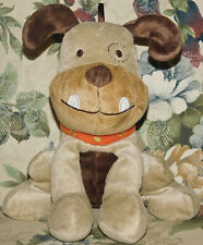NWT JUST ONE YEAR Brown BULLDOG Puppy Dog Plush Lovey JOY Puppy NEW 99981