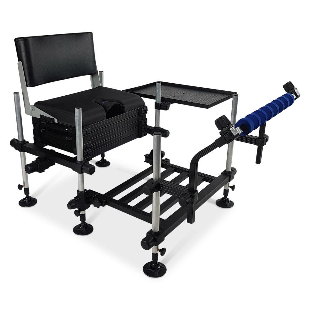 Match Station® 3D Mod-Box™ Seat Box HD Footplate Back Rest Sp  Bar & Side T