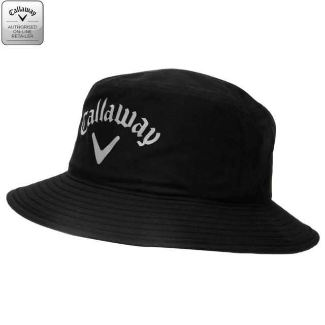 1268093a1fd Callaway Golf 2015 Mens Aqua Dry Bucket Cap Waterproof Rain Hat