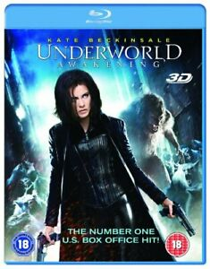 Underworld: Awakening (Blu-ray 3D + Blu-ray) [DVD][Region 2]