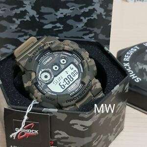 e0e944b74cb4 Casio G-Shock GD-120CM-5 Brown Military Camouflage Digital Men s ...