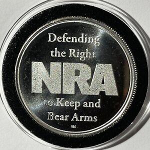 National Rifle Association NRA 1-oz .999 Silver Round cb1001