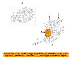 jaguar oem 03 08 s type 4 2l v8 alternator idler pulley c2c22758 ebayimage is loading jaguar oem 03 08 s type 4 2l