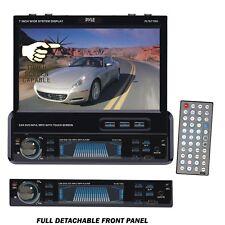 "Pyle PLTS77DU 7"" Single DIN Touchscreen DVD/CD/MP3/MP4/USB/SD/AM-FM Receiver"