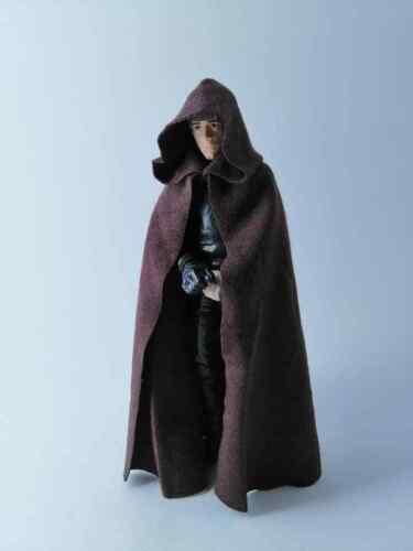 NO FIGURE Custom Jedi Cloak for Luke Skywalker Star Wars Black Series 6 inch