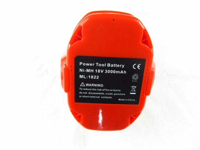For Makita 18V 3.0Ah Ni-MH PA18 1834 1835 Replacement battery fit 8391DWPE 6349D